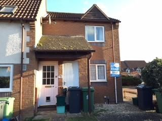 Thumbnail 1 bed maisonette to rent in Brockeridge Close, Quedgeley, Gloucester
