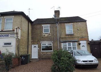 Thumbnail 3 bed terraced house to rent in Huntly Road, Woodston, Peterborough.