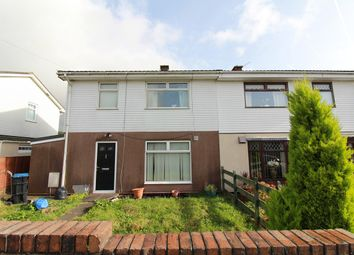 Thumbnail 3 bed semi-detached house for sale in Bryn Ebbw, Ebbw Vale