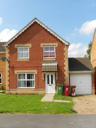 Thumbnail 4 bed detached house to rent in Edgbaston Avenue, Scunthorpe