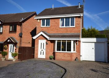 Thumbnail 3 bed detached house for sale in Ranworth Close, Clayton, Newcastle-Under-Lyme
