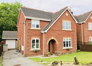 Thumbnail 4 bed detached house for sale in Redacre Close, Dutton, Warrington, Cheshire
