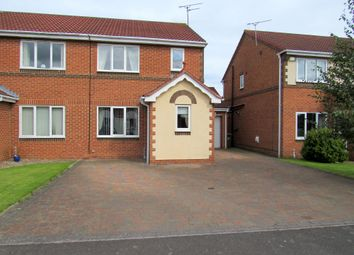Thumbnail 3 bed semi-detached house for sale in Fonteyn Place, Cramlington