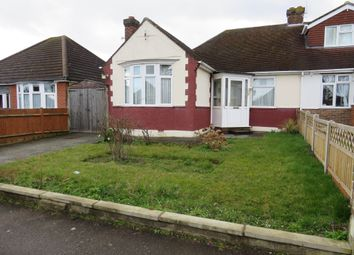 Thumbnail 3 bed semi-detached bungalow for sale in Mixes Hill Road, Luton