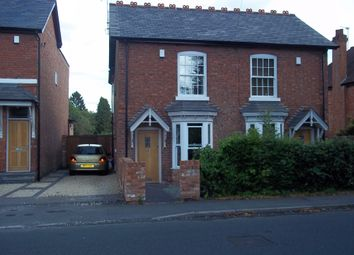 Thumbnail 2 bed semi-detached house to rent in Tanworth Lane, Shirley