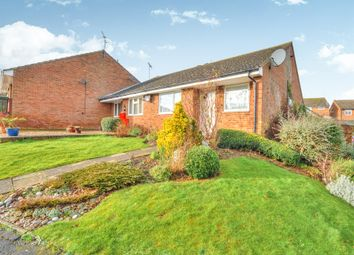 Thumbnail 2 bed terraced bungalow for sale in Herriot Close, Newport Pagnell