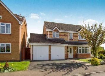 Thumbnail 4 bed detached house for sale in Harvest Way, Broughton Astley, Leicester, Leicestershire