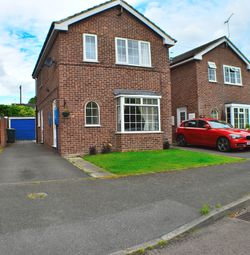 Thumbnail 3 bed detached house to rent in Wallfields Close, Findern, Derby, Derbyshire