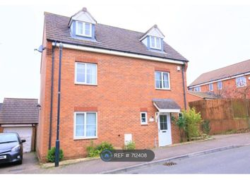 Thumbnail 5 bed detached house to rent in Farnborough Avenue, Rugby