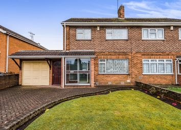 Thumbnail 3 bed semi-detached house for sale in Lea Avenue, Wednesbury