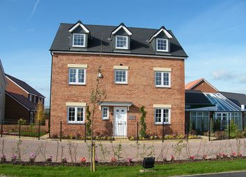 Thumbnail 5 bed detached house for sale in Galileo, Cranbrook, Near Exeter