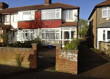 Thumbnail 3 bed end terrace house for sale in North Hyde Lane, Southall