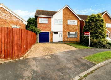 Thumbnail 4 bedroom detached house for sale in Pells Close, Fleckney, Leicester
