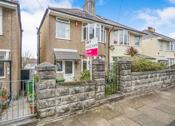 Thumbnail 3 bed semi-detached house for sale in Dovedale Road, Plymouth