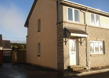 Thumbnail 3 bedroom semi-detached house to rent in Station Place, Hatton, Peterhead
