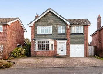 Thumbnail 4 bedroom detached house for sale in Marlborough Avenue, Cheadle Hulme, Cheshire.