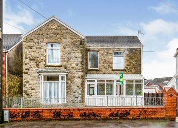 Thumbnail 3 bed detached house for sale in Park Road, Clydach, Swansea