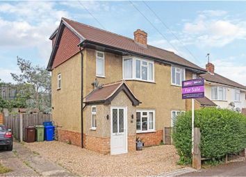 Thumbnail 3 bed semi-detached house for sale in Holly Road, Aldershot
