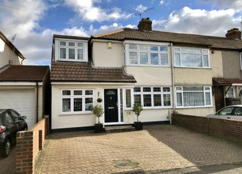 Thumbnail 4 bed end terrace house for sale in Laburnum Avenue, Hornchurch