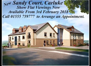 Thumbnail 3 bed flat for sale in Sandy Court, Sandy Road, Carluke