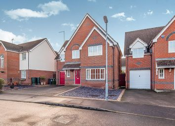 Thumbnail 4 bed detached house for sale in Marconi Drive, Yaxley, Peterborough