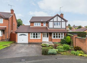 Thumbnail 4 bed detached house for sale in Lothlorien Close, Littleover, Derby