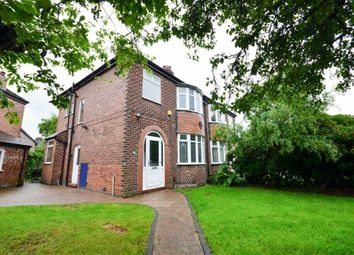 Thumbnail 3 bed semi-detached house to rent in Frodsham Avenue, Heaton Norris, Stockport, Cheshire