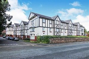 Thumbnail 2 bed flat to rent in Queens Park House, Queens Park View, Chester