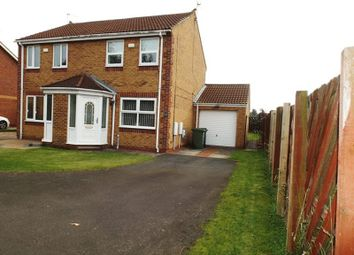 Thumbnail 2 bed semi-detached house to rent in Durham Close, Bedlington