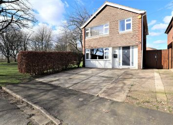 Thumbnail 3 bed detached house for sale in Garratt Close, Heighington, Lincoln