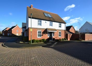 Thumbnail 4 bed detached house for sale in Woodman Way, Horley