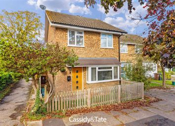 Thumbnail 3 bed end terrace house for sale in Elizabeth Court, St. Albans, Hertfordshire