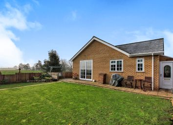 Thumbnail 3 bed detached bungalow for sale in School Road, Newborough, Peterborough