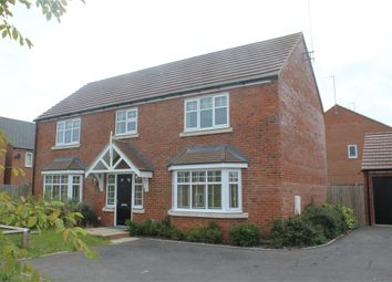 Thumbnail 4 bed detached house to rent in Harris Close, Newton Leys, Bletchley, Milton Keynes