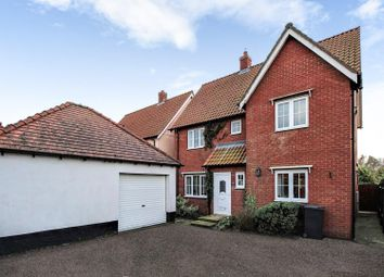 Thumbnail 4 bed detached house for sale in Cherry Tree Close, Yaxley, Eye
