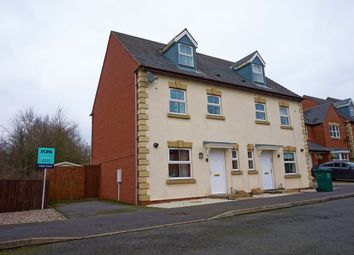 Thumbnail 4 bed semi-detached house for sale in Woodyard Close, Castle Gresley, Swadlincote