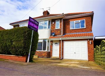 Thumbnail 3 bed semi-detached house for sale in Lawnswood Drive, York