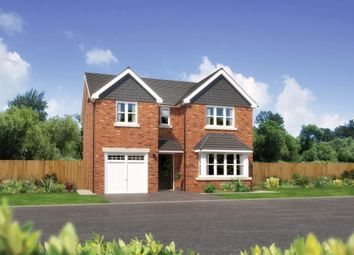 "Thumbnail 4 bed detached house for sale in ""Hampsfield"" at Padgbury Lane, Congleton"