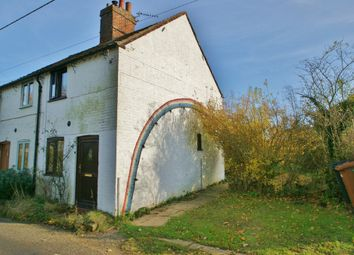 Thumbnail 2 bed semi-detached house for sale in Dereham Road, Bawdeswell, Dereham