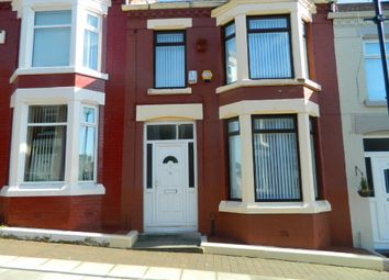 Thumbnail 3 bed terraced house to rent in Badminton Street, Liverpool