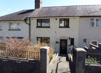 Thumbnail 3 bed terraced house for sale in Pen Y Wern, Bangor