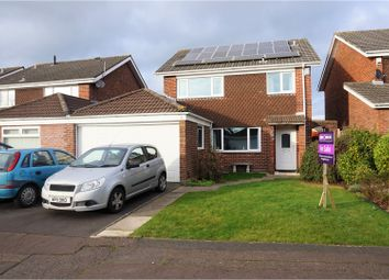 Thumbnail 4 bed link-detached house for sale in Rogerstone, Newport