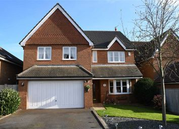 Thumbnail 4 bed detached house for sale in Carr Holme Gardens, Cabus, Preston