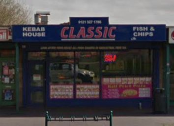Thumbnail Restaurant/cafe for sale in Upper Sutton Street, Erdington