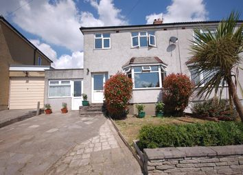 Thumbnail 3 bed semi-detached house for sale in Cotswold View, Kingswood, Bristol