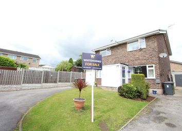 Thumbnail 2 bed semi-detached house for sale in Buttermere Drive, Dronfield Woodhouse, Dronfield