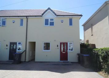 Thumbnail 2 bed town house for sale in Elwell Avenue, Barwell, Leicester