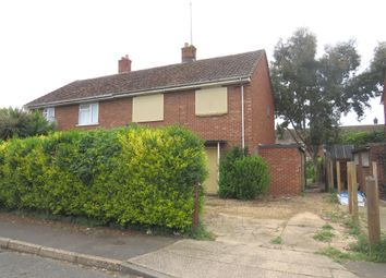 Thumbnail 3 bedroom semi-detached house for sale in Hawthorne Avenue, Wisbech