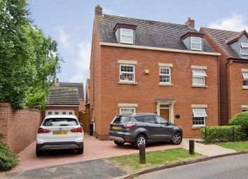 Thumbnail 4 bed detached house for sale in Thacker Drive, Darwin Park, Lichfield