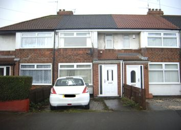Thumbnail 2 bed terraced house for sale in Welwyn Park Drive, Hull